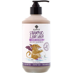 Everyday Shea, Shampoo & Body Wash, Babies & Kids, Lemon Lavender, 16 fl oz (475 ml)