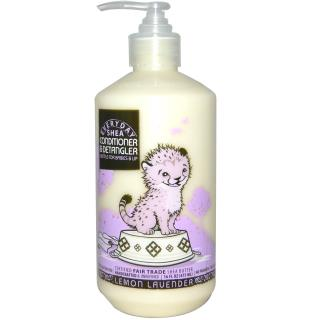 Everyday Shea, Conditioner & DeTangler, Gentle for Babies on Up, Lemon Lavender, 16 fl oz (475 ml)