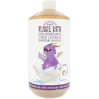 Everyday Shea, Bubble Bath, Gentle For Babies And Up, Lemon Lavender, 32 fl oz (950 ml)