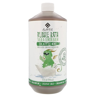 Everyday Shea, Bubble Bath, Shea & Lemon Balm, Eucalyptus Mint, 32 fl oz (950 ml)