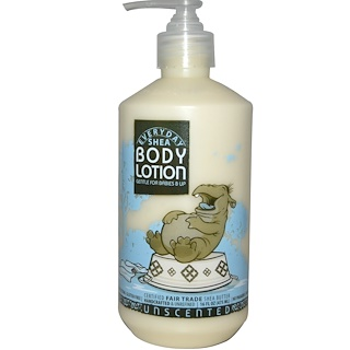 Everyday Shea, Body Lotion, Gentle for Babies on Up, Unscented, 16 fl oz (475 ml)