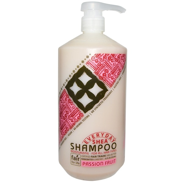 Everyday Shea, Moisturizing Shampoo, Passion Fruit, 32 fl oz (950 ml)