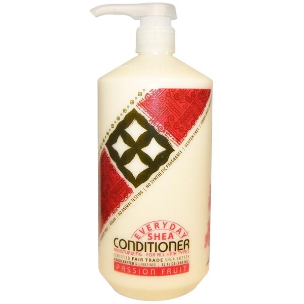 Everyday Shea, Moisturizing Conditioner, Passion Fruit, 32 fl oz (950 ml)