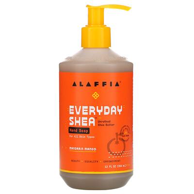 Купить Alaffia Hand Soap, Mandarin Mango, 12 fl oz (354 ml)