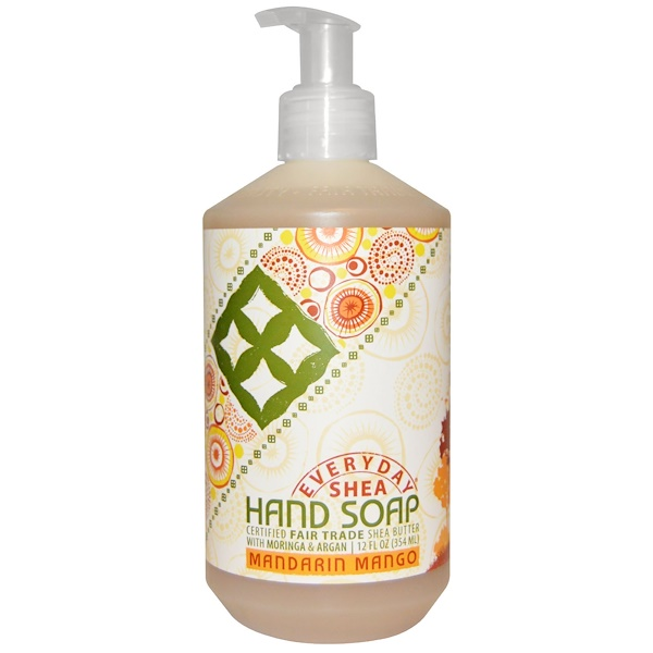 Everyday Shea, Hand Soap, Mandarin Mango, 12 fl oz (354 ml)