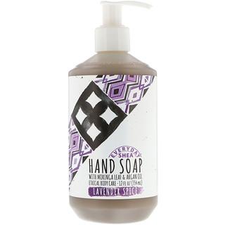 Everyday Shea, Hand Soap, Lavender Spice, 12 fl oz (354 ml)