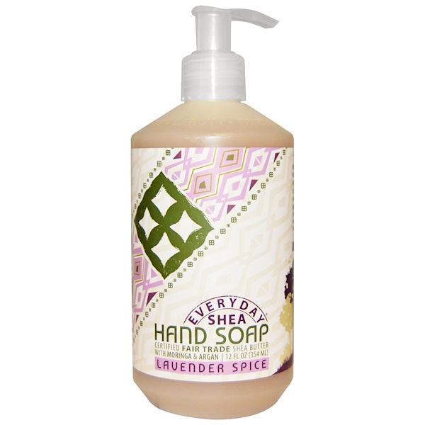 Everyday Shea, Hand Soap, Lavender Spice, 12 fl oz (354 ml)