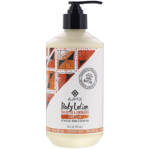 Everyday Shea, Body Lotion, Vanilla, 16 fl oz (475 ml)