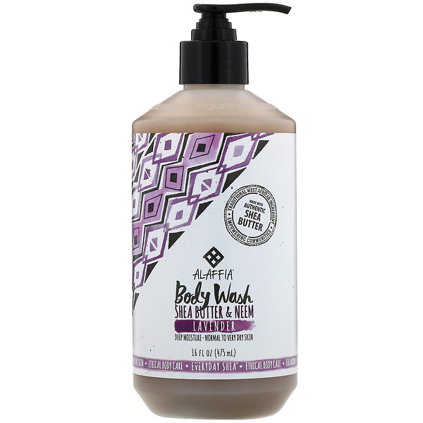 Everyday Shea, Body Wash, Lavender, 16 fl oz (475 ml)