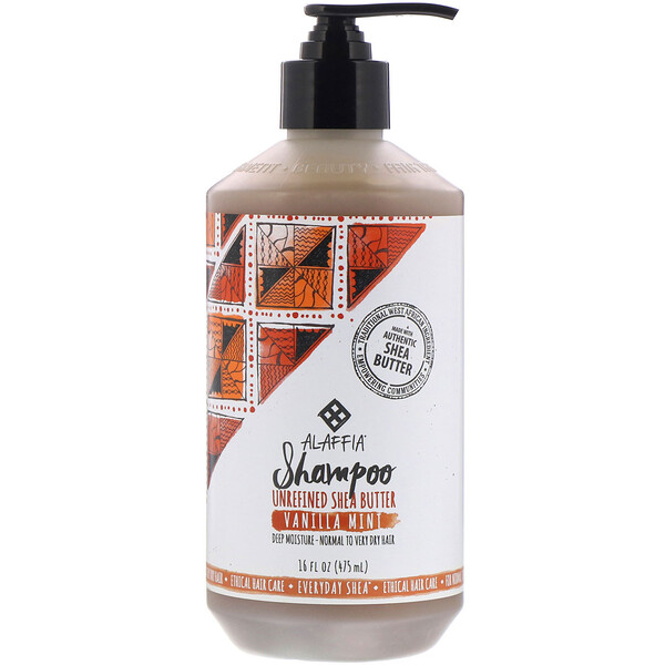 Shampooing, Menthe-vanille, 475 ml