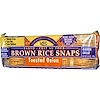 Edward & Sons, Brown Rice Snaps horneadas, cebolla tostada, 3,5 oz (100 g)