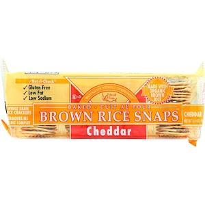 Эдвард энд Санс, Baked Brown Rice Snaps, Cheddar, 3.5 oz (100 g) отзывы покупателей
