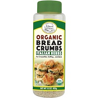 Breadcrumbs, Italian Herbs, Organic, 15 oz (425 g) - фото