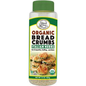 Эдвард энд Санс, Breadcrumbs, Italian Herbs, Organic, 15 oz (425 g) отзывы
