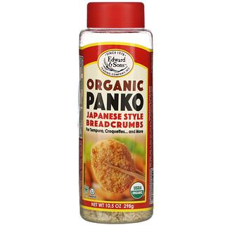 Edward & Sons, Organic Panko, Japanese Style Breadcrumbs, 10.5 oz (298 g)
