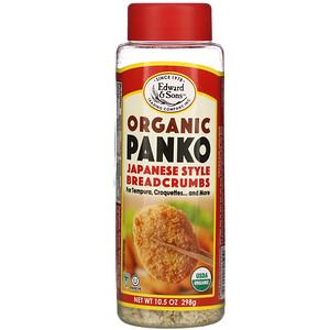 Эдвард энд Санс, Organic Panko, Japanese Style Breadcrumbs, 10.5 oz (298 g) отзывы покупателей
