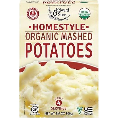 Органическое картофельное пюре Organic Mashed Potatoes, домашняя кухня, 100 г цена