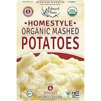 Органическое картофельное пюре Organic Mashed Potatoes, домашняя кухня, 100 г - фото