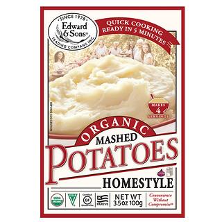 Edward & Sons, Organic Mashed Potatoes, Home Style, 3.5 oz (100 g)