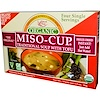 Edward & Sons, Miso-Cup, Traditional Soup With Tofu, 4 Single Servings, Organic, 9 g Each