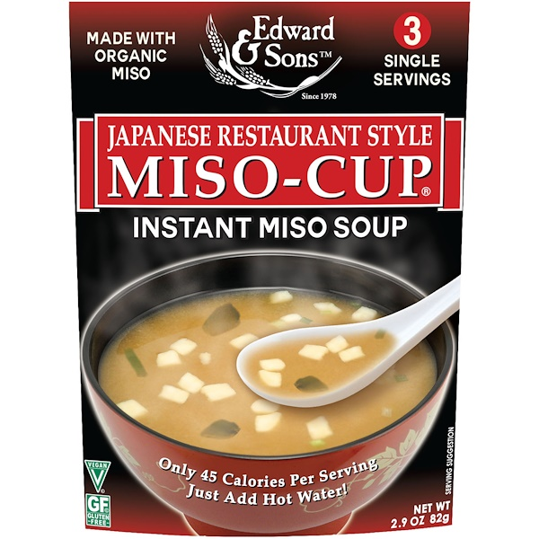 Miso-Cup, Japanese Restaurant Style, 3 Individual Servings