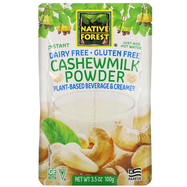 Cashewmilk Powder, 3.5 oz (100 g)