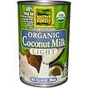 Edward & Sons, Organic Coconut Milk, Light, Unsweetened, 13.5 fl oz (398 ml) (Discontinued Item)