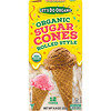 Edward & Sons, Edward & Sons, Let's Do Organic, Organic Sugar Cones, Rolled Style, 12 Cones