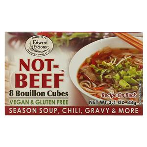 Эдвард энд Санс, Not-Beef Bouillon Cubes, 8 Cubes, 3.1 oz (88 g) отзывы покупателей