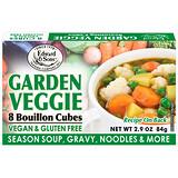Отзывы о Edward & Sons, Edward & Sons, Garden Veggie, Bouillon Cubes, 8 Cubes