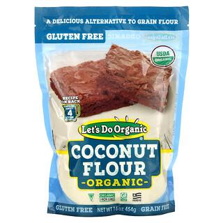 Edward & Sons, Let's Do Organic, Coconut Flour, 16 oz (454 g)
