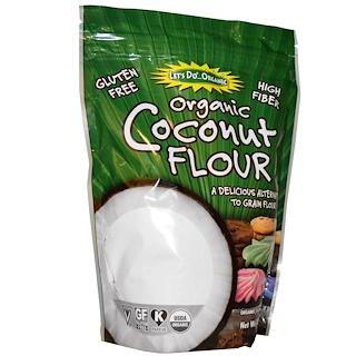 Edward & Sons, Органическая кокосовая мука, 454 г