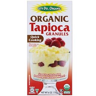 Edward & Sons, Organic Tapioca Granulated, 6 oz (170 g)