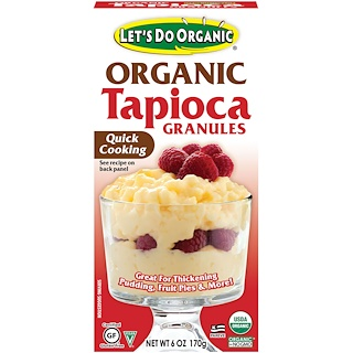 Edward & Sons, Edward & Sons, Let's Do Organic, Organic Tapioca Granules, 6 oz (170 g)