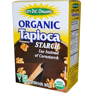Edward & Sons, Organic Tapioca Starch, 6 oz (170 g)