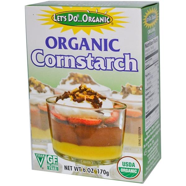 Edward & Sons, Organic Cornstarch, 6 oz (170 g)