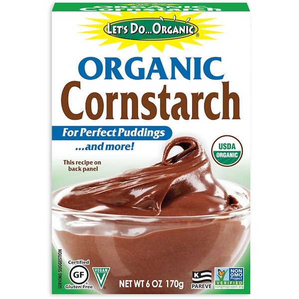 Edward & Sons, Let's Do Organic, Organic Cornstarch, 6 oz (170 g) (Discontinued Item)