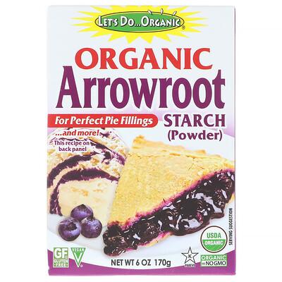 Купить Edward & Sons Let's Do Organic, Organic Arrowroot Starch, 6 oz (170 g)