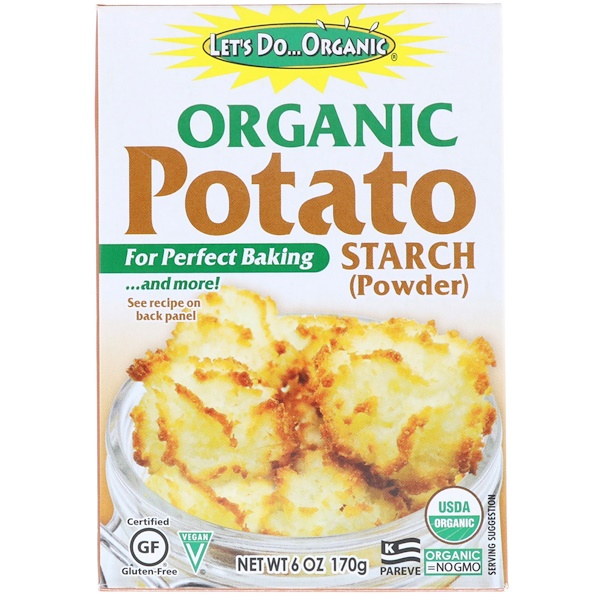 Edward & Sons, Let's Do Organic, Organic Potato Starch, 6 oz (170 g) (Discontinued Item)