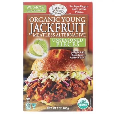 Купить Edward & Sons Organic Young Jackfruit, Unseasoned Pieces, 7 oz (200 g)