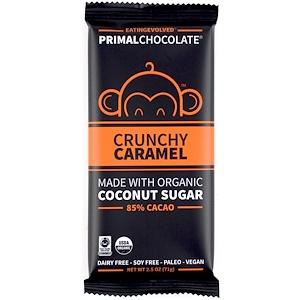 Evolved Chocolate, PrimalChocolate, Crunchy Caramel 85% Cacao, 2.5 oz (71 g) отзывы