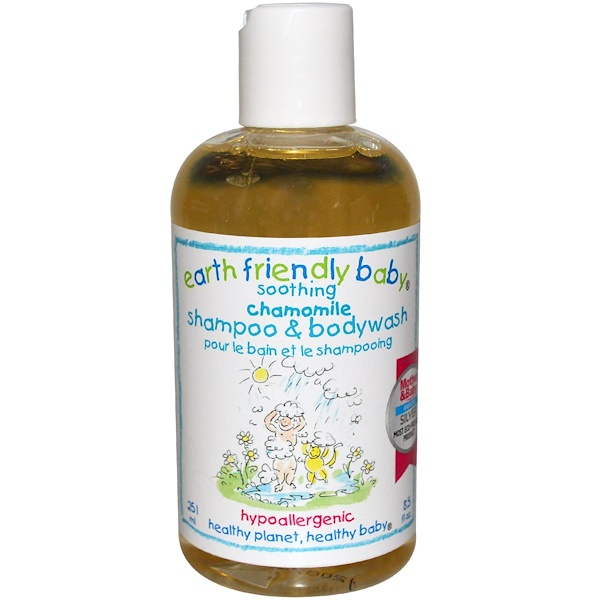 Earth Friendly Baby, Shampoo & Body Wash, Chamomile, 8.5 fl oz (251 ml) (Discontinued Item)