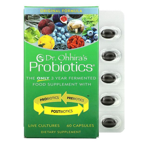 Probiotics, Original Formula, 60 Capsules