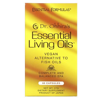 Dr. Ohhira's Незаменимые живые масла, 60 капсул