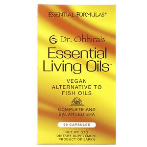 Др Оххира, Эссеншл Формьюлас Инк, Essential Living Oils, 60 Capsules отзывы покупателей