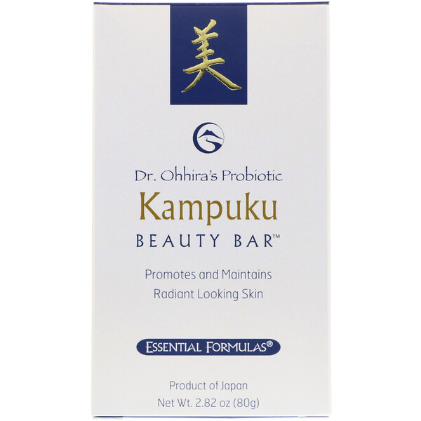 Probiotic, Kampuku Beauty Bar, 2.82 oz (80 g)
