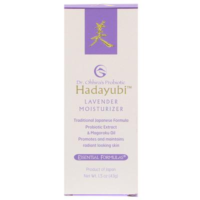 Купить Dr. Ohhira's Hadayubi Lavendar Moisturizer, 1.5 oz (43 g)