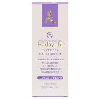 Dr. Ohhira's, Essential Formulas Inc., Probiotic, Hadayubi Lavender Moisturizer, 1.5 oz (43 g)