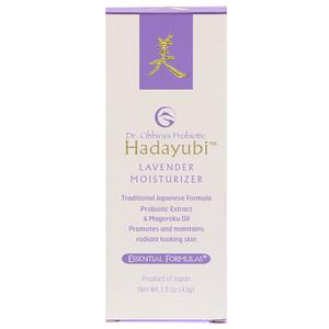 Др Оххира, Эссеншл Формьюлас Инк, Probiotic, Hadayubi Lavender Moisturizer, 1.5 oz (43 g) отзывы