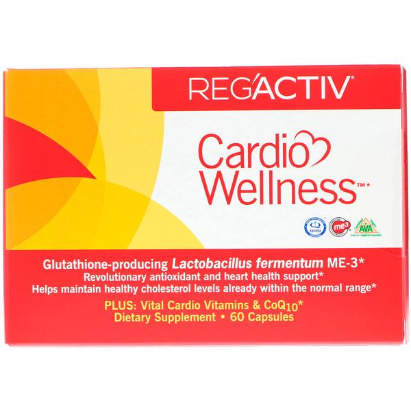 Dr. Ohhira's, Reg'Activ, Cardio Wellness, 60 Capsules
